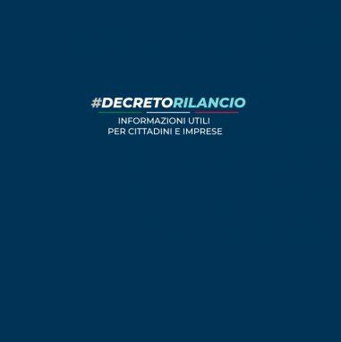 Decreto Rilancio   Studio Ragazzo-Pescari Professionisti Associati